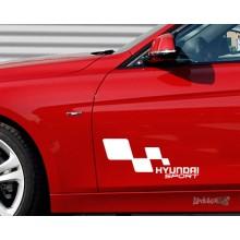 Lipdukas - Hyundai racing 1 vnt.