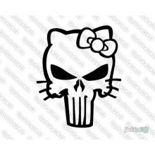 Lipdukas - Hello Kitty kaukolė