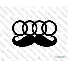 Lipdukas - Audi mustache