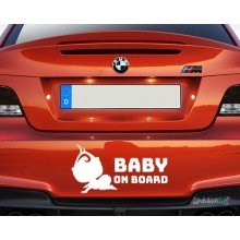 Lipdukas - Baby on board