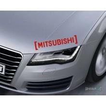Lipdukas - Mitsubishi in brackets