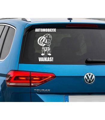 Automobilyje VAIKAS!
