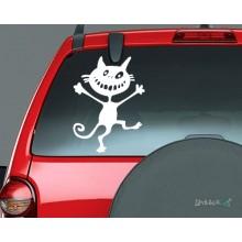 Lipdukas - Laimingas katinas