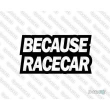 Lipdukas - Because Race Car