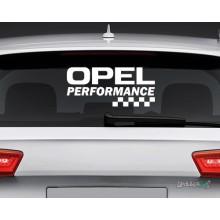 Lipdukas - Opel performance