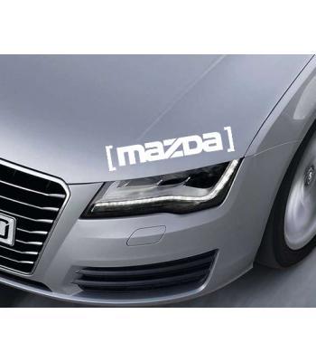 Mazda in brackets