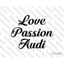 Lipdukas - Love passion audi