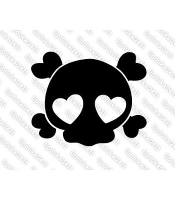 Skull with Hearts