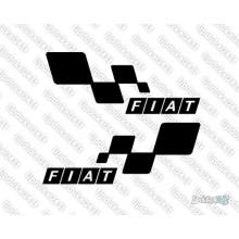 Lipdukas - Fiat racing 2 vnt.