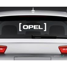 Lipdukas - Opel in brackets