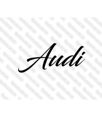 Audi užrašas 1