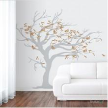 Lipdukas - Vėjo draskomas medis