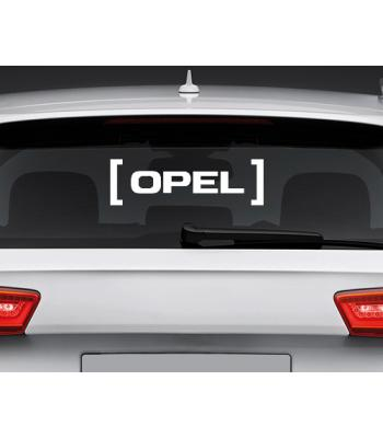 Opel in brackets