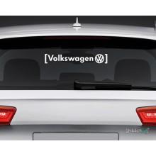 Lipdukas - Volkswagen in brackets