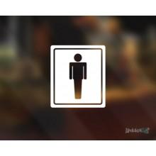Lipdukas - WC vyrams 2