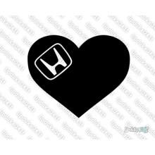 Lipdukas - Honda heart