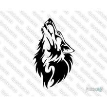 Lipdukas - Vilko galva
