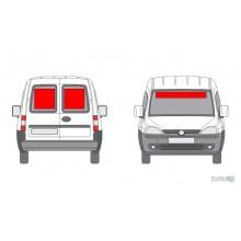 Lipdukas - Lipdukų komplektas automobiliui nr. 2 (galui ir priekiui)