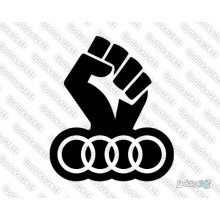Lipdukas - Audi strong