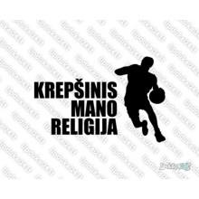 Lipdukas - Krepšinis mano religija 2 jb