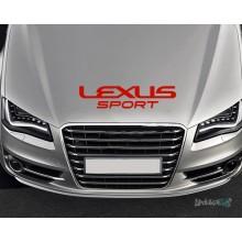 Lipdukas - Lexus sport