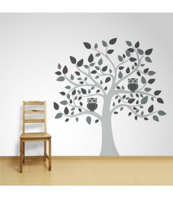 Medis su pelėdomis