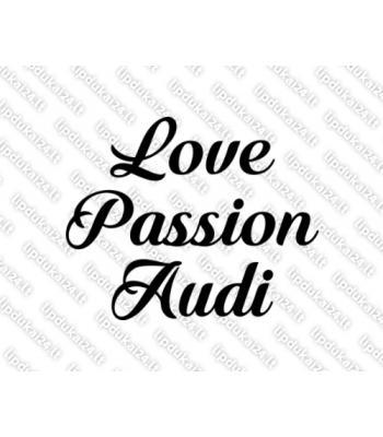 Love passion audi