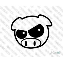 Lipdukas - Angry Pig