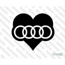 Lipdukas - I love Audi 2