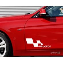 Lipdukas - Peugeot racing 1 vnt.