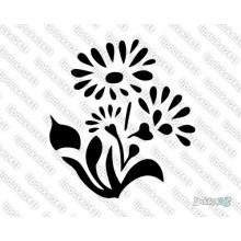 Lipdukas - Gėlė 21