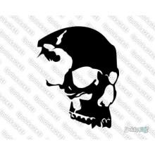 Lipdukas - Kaukolė iš šono 17