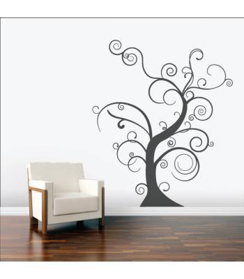 Raitytas medis be lapų