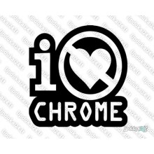 Lipdukas - I Dont Love Chrome