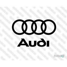 Lipdukas - Audi logo