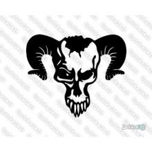 Lipdukas - Kaukole demono 15