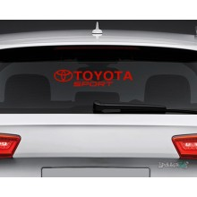 Lipdukas - Toyota sport