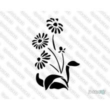 Lipdukas - Gėlė 25
