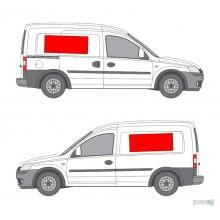 Lipdukas - Lipdukų komplektas automobiliui nr. 2 (šonai)