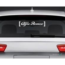 Lipdukas - Alfa Romeo in brackets