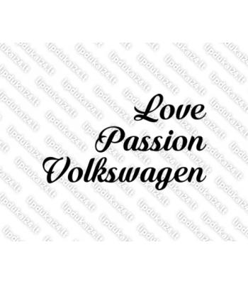 Love passion volkswagen