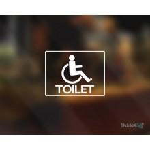 Lipdukas - WC toilet neįgaliųjų