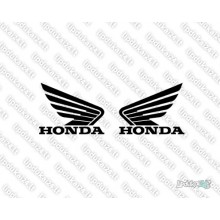 Lipdukas - Honda two wings