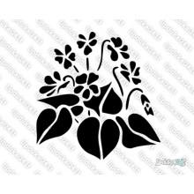 Lipdukas - Gėlė 6