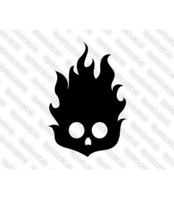 Kaukolė deganti 24