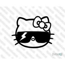 Lipdukas - Hello Kitty su akiniais