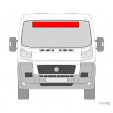Lipdukas - Lipdukas automobiliui nr. 3 (priekiui)