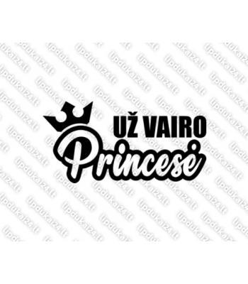 Už vairo princesė