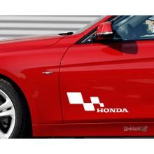 Lipdukas - Honda racing 1 vnt.