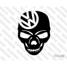 Lipdukas - VW skull